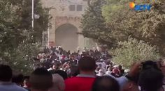 Pencopotan Bendera Palestina di Al-Aqsa Kembali Picu Bentrokan