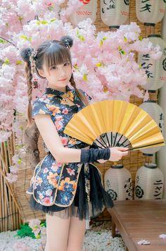 Anime Cosplay Mädchen, Cute Kawaii Girl, Hanfu, Cheongsam, Japan Girl, Tokyo Fashion, Kokoro, Beautiful Asian Girls, Cute Dresses