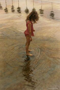 Si doux ce toucher de l'eau...un retour aux sources.(stevehanks013-onceuponashoreline)