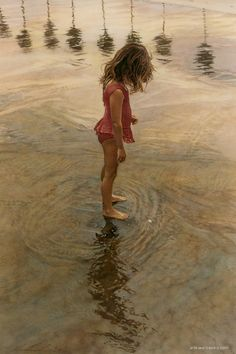 Steve Hanks Paintings.