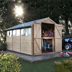 BillyOh Master Tongue And Groove Apex Shed   Garden Sheds   Garden  Buildings Direct