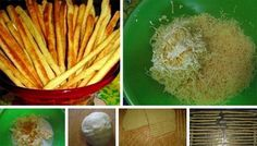 cheese sticks 26 best recipes for New Year 's Eve, sticks and rolls NejRecept. Pastel House, Party Tops, Celery, Carrots, Cake Recipes, Good Food, Brunch, Rolls, Food And Drink