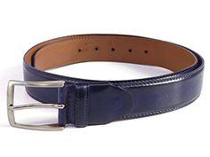 PAUL PARKMAN Men's Leather Belt Hand-Painted Navy (Medium (EU 110)) PAUL PARKMAN http://www.amazon.co.uk/dp/B01969XVNS/ref=cm_sw_r_pi_dp_bhZAwb0V0A24F
