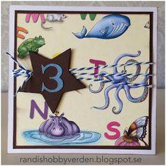 Randis hobbyverden: Sifferkort til en 3-åring