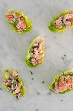 slaschuitjes met tonijn