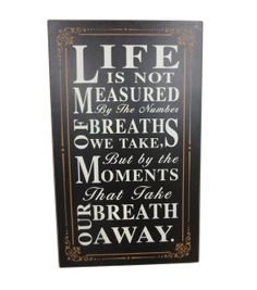 Spring Inspirations Life Measures Wall Decor, , hi-res