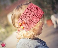 "#nationalpinkday Haarband.""Coral reef"" by Pinkyboo. http://de.dawanda.com/shop/pinkyboo/3970423-SALE"