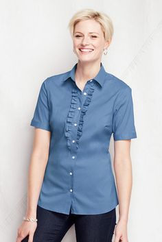 Short sleeve Style Arc Sissy blouse