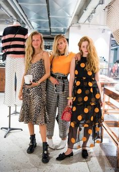 Brand to Watch: Ganni Trendy Fashion, Vintage Fashion, Womens Fashion, Fashion Trends, Looks Street Style, Street Style Women, Chic Outfits, Fashion Outfits, Mode Inspiration