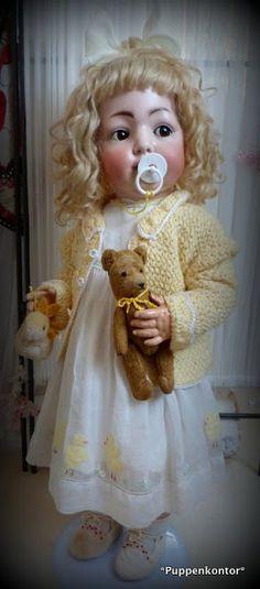 Ein Blog über das Sammeln antiker Porzellankopf-Puppen deutscher Hersteller
