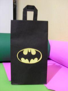 bolsitas de cumpleaños de batman 2