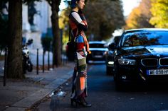 See all the best fall fashion straight from the streets of Paris, now on wmag.com.