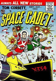Tom Corbett, Space Cadet #3 - Comic Book Cover Poster