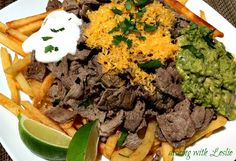 Dishing With Leslie: Carne Asada Fries