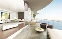 brickell-New Miami-condo-terrace