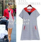 Today's Hot Pick :Striped Hooded Dress http://fashionstylep.com/SFSELFAA0004043/dalphinsen1/out High quality Korean fashion direct from our design studio in South Korea! We offer competitive pricing and guaranteed quality products. If you have any questions about sizing feel free to contact us any time and we can provide detailed measurements.