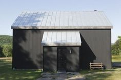 Nearly 200 years after British civil engineer Henry Robinson Palmer came up with the idea to crease thin sheets of metal to make corrugated metal siding, a