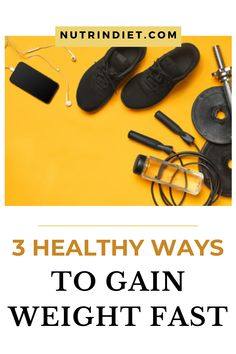 Wanting to gain weight in a healthy and fast way? Have you tried everything, but it seems that it is impossible to gain weight? So we have for you, 3 effective ways to gain weight fast. But not just gaining weight, but gaining weight in a healthy way and free of localized fat. Learn these simple ways that will help you gain healthy and appropriate weight. #howtogainhealthyweight #tipstogainweighthardgainers #buildhealthyweight