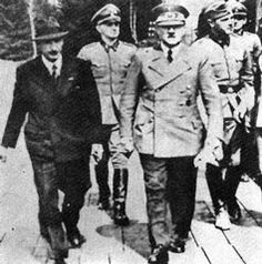 Hitler with King Boris of Bulgaria