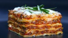 Lasagna Recipe Without Ricotta, Homemade Lasagna Recipes, Lasagna Rolls, Easy Youtube, Italian Dishes, Cooking Recipes, Pasta, Treats, Ethnic Recipes