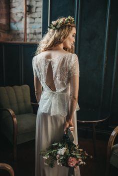 Key hole back lace wedding top. Images by Mariola Zoladz Fall Wedding Flowers, Autumn Wedding, Wedding Gowns, Lace Wedding, Autumn Lights, Bridal Separates, French Lace, Lace Tops, Wedding Styles