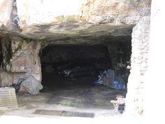 Cave garage in Ragusa