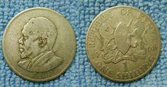 1968 one shilling KENYA
