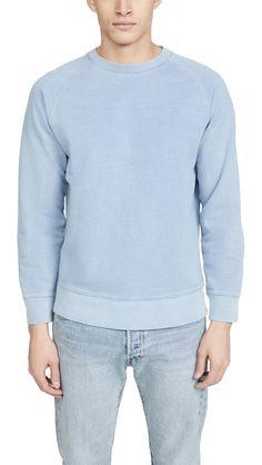 Men's Pastel Sweatshirt Crew Neck Sweatshirt, Pullover, The Fashionisto, Modern Wardrobe, Cotton Sweater, Mens Sweatshirts, Pastel, Mens Fashion, Sweaters