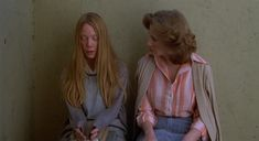 Sissy Spacek and Betty Buckley. Sissy Spacek, Amy Irving, Betty Buckley, John Travolta, Nancy Allen, Piper Laurie, Stephen King Movies, Alfred Hitchcock, Carry On