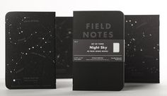 "FIELD NOTES COLORS: ""NIGHT SKY"" EDITION"
