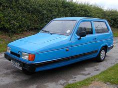La voiture la plus casse-gueule, la plus accidentogène au monde : La Reliant Robin ... et elle est anglaise !