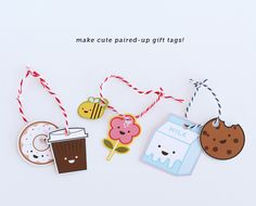 FREE Printable Paired-Up Gift Tags