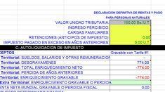 Ciudadanos: Calcule el ISLR en Excel (Descargar Hoja de Cálculo +Explicación)