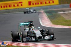 Lewis Hamilton, Mercedes Grand Prix, Formule 1 Grand Prix van Hongarije 2014, Formule 1