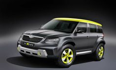2014 Skoda Yeti Xtreme Rally SUV Concept Hi-Resolution Picture