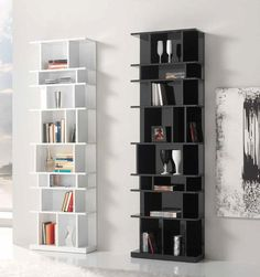 High Gloss Black Bookcase - Best Paint to Paint Furniture Check more at http://fiveinchfloppy.com/high-gloss-black-bookcase/