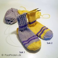 To sokker på en gang