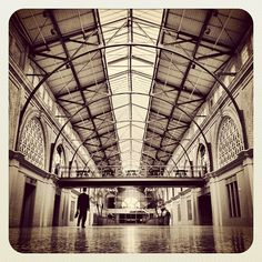 San Francisco Ferry Building. Photo submitted by Instagram user aaaron to #GEInspiredME contest.