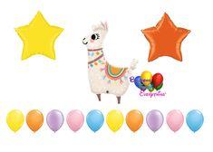 Loveable LLAMA Birthday Balloons Graduation Balloons, Wedding Balloons, Birthday Balloons, Mylar Balloons, Baby Shower Balloons, Latex Balloons, Balloon Columns, Balloon Arch, The Balloon