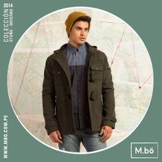 ¿Ya sentiste el cambio de clima? Nuestro abrigo de paño puede ser tu mejor aliado para protegerte del frío. #mbo #invierno #abrigo #clothing #fashion #menwear #style #casualwear