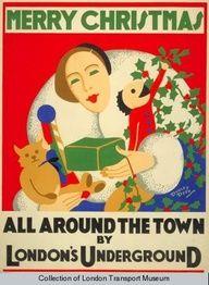 Christmas Tube Poster #Tube150