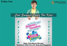 This weekend enroll your tiny tots to a cool summer camp and help them to discover their hidden talents. http://bit.ly/23ZmvDk