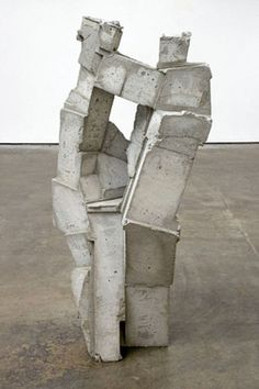 "logarchitecture: "" a sculpture by gustavo godoy called 'brick' """