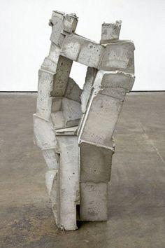 "logarchitecture: "" a sculpture by gustavo godoy called 'brick' """
