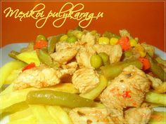 Mexikói pulykaragu - VKF! XXXI. Meat Recipes, Potato Salad, Potatoes, Chicken, Ethnic Recipes, Food, Potato, Essen, Meals
