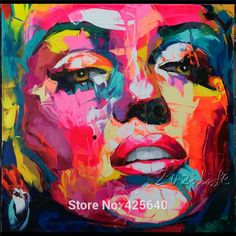 Product Detail: Product:Street Art Pop Art on canvas hight Quality Size: –Below size can't shipped by China Post. Pop Art, Art Visage, Art Party Decorations, Figurative Kunst, Abstract Faces, Dog Paintings, Oil Painting Abstract, Painting Canvas, Painting Tips