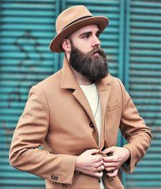 Great Beards, Awesome Beards, Beard Styles For Men, Hair And Beard Styles, Hair Styles, Shaved Head With Beard, Shaved Heads, Tapered Beard, Beard King