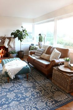 Living Room Progress Details {and $100 Giveaway} - The Inspired Room