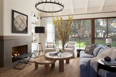 Modern Farmhouse Style Living Rooms