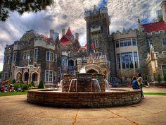 An eye-catching HDR image of Casa Loma, Toronto, Ontario. #Canada #Canadian #Toronto